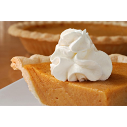 Image of a Slice of Pumpkin Pie