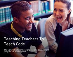 Teach the teachers to code