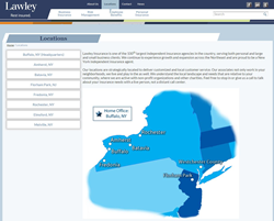 Lawley Insurance has branch offices across New York and New Jersey
