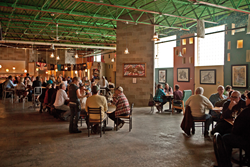 An evening session at Traverse City's Right Brain Brewery
