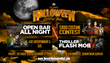 Denver Halloween Ball Flyer