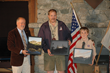 Runner up Winner 11 year old Tenderfoot Scout Kaeden Brinkman from from Troop 600 in Bellevue, WA with ihis 3 winning photographs of Silver Lake.