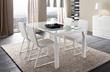 Sapphire White Prisma Dining Table R348203000117 from Rossetto