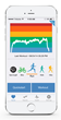 Digifit features an all-in-one exercise tracking solution that measures, monitors and reports exercise activities, such as walking, hiking, running, and biking.