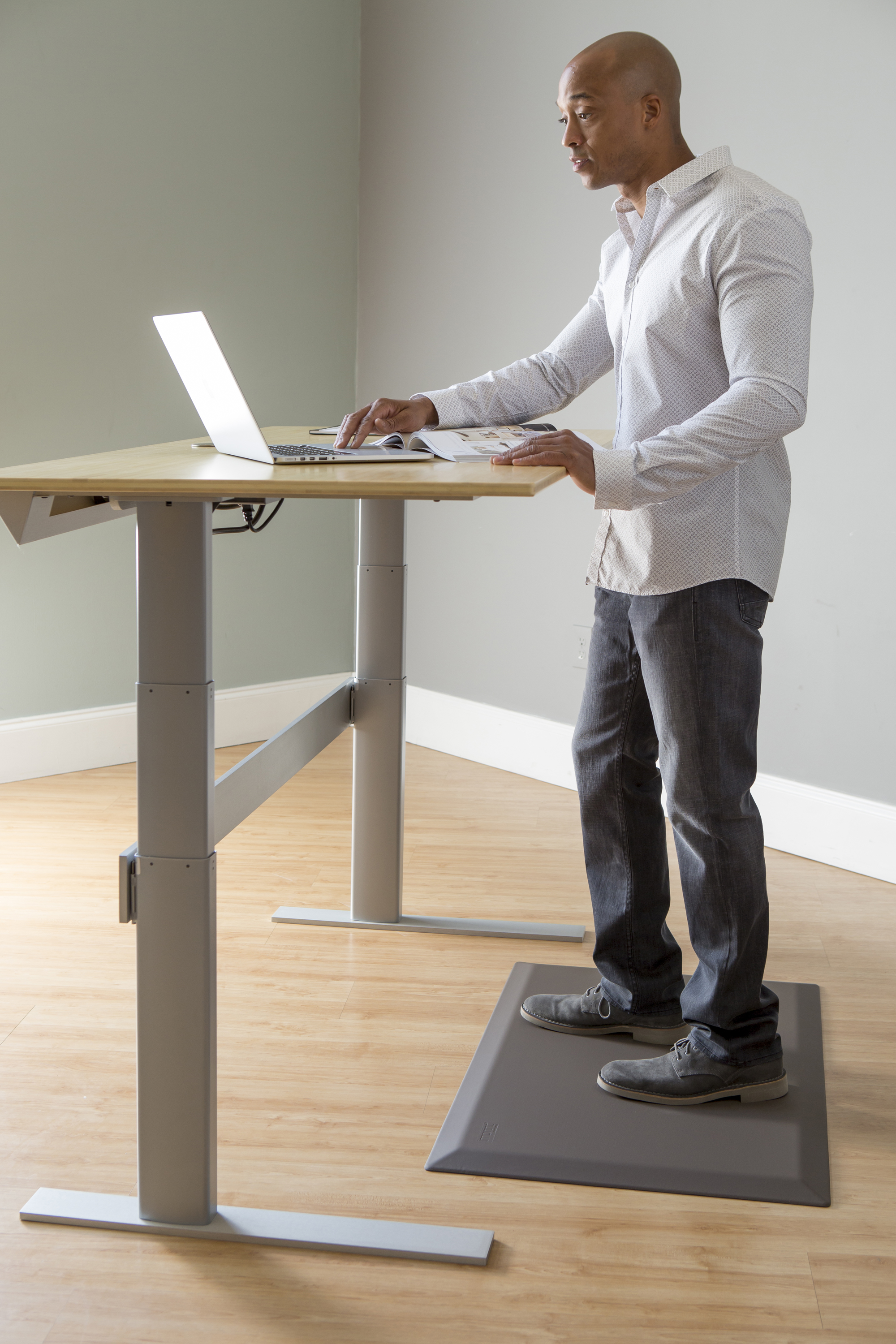 Cumuluspro Anti Fatigue Mat Perfect For Standing Desks