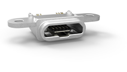 TE IP68 micro USB 2.0 connector for mobile devices