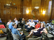 The interactive small group sessions at the CA CI Forum allowed participants to share experiences and talk directly with presentors about how to get started with Lean methods.