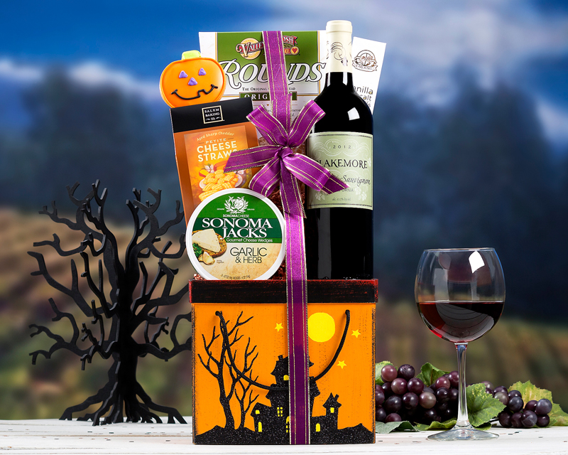 Wine Country Gift Baskets Spooky Gift Baskets New