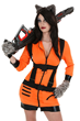 Sexy Rocket Raccoon Costume