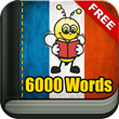 Learn French 6000 Words from Fun Easy Learn Crossed 500,000 Downloads
