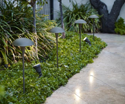 Landscape Lighting Is Part of an Overall Home Lighting Plan