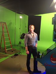 One of the many success stories for the students of The Actor's Studio of Orange County, Lane Kendel (here) is working on the film set.