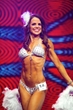 Kate McKay prepares to compete in New York Fitness America Pageant