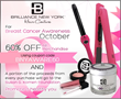 Brilliance New York Supports Breast Cancer Research with Part of Sales Proceds