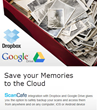 ScanCafe Integrates with Google Drive and Dropbox