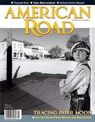 American Road magazine Tatum O'Neal