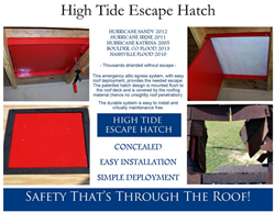 High Tide Escape Roof Hatch