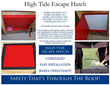 High Tide Escape Hatch – Life Safety That's Through the Roof