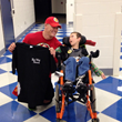 Wish Kid meets WWE Superstar John Cena