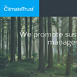Major Milestones and New Look for The Climate Trust