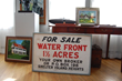 1920's Vintage Real Estate Sign from Dering Harbor Village estate