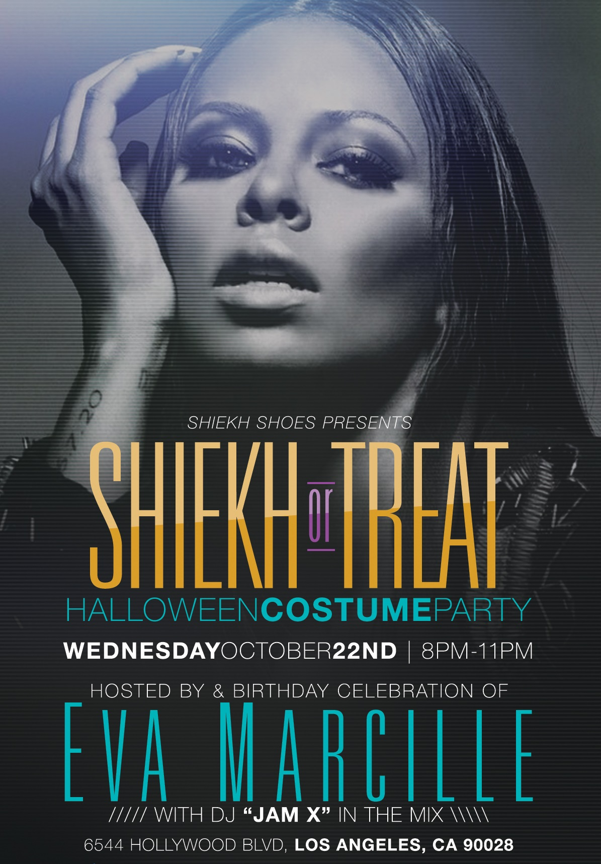 model eva marcille to celebrate birthday with shiekh or