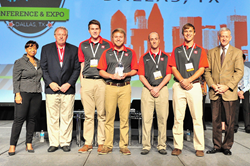 MSOE won the 2014 Design-Build Student Competition