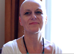 Diagnosed after years of being misinformed, had a mastectomy of her left breast.