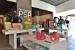 Interior photo of Destination PSP retail experience