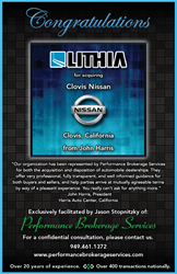 Lithia Motors Inc Purchases Clovis Nissan From Harris