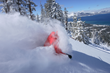 "The Landing's ""Ski the Lake"" package includes remarkable Lake Tahoe views from the slopes of a choice of four top Tahoe ski areas. (photo by Heavenly Mountain Resort)"