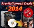 Digiarty 2014 Pre-Halloween Deals Embark 50% off Win & Mac DVD Ripper Software