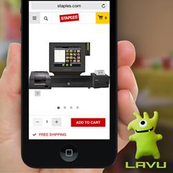 Lavu iPad POS hardware bundles at Staples
