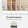 Brightkey Releases New Features and Wood Themes for its Popular iOS Keyboard