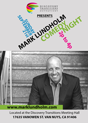 The Discovery House Hosts Comedy Night with Mark Lundholm