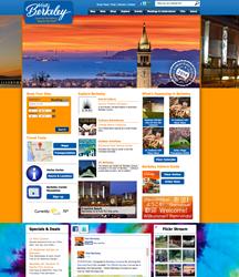 Visit Berkeley Home Page Screen Shot