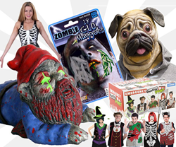 Stupid.com's wacky, stupid, and downright scary halloween gifts.