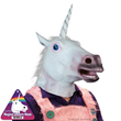 Unicorn Mask from Stupid.com