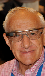 Google Glass is a player in the emerging wearables market; above, Stanford University Professor Emeritus Joseph Goodman wears his.