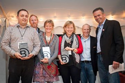 CafeGive Social is one of three companies awarded B Corp Rookie of the Year