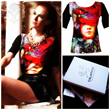 Artist Anna Soustina Launches Calaphya, a Women's Clothing Company...