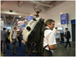 Leica GeoSystem's Mobile Mapping Backpack system sporting Velodyne's HDL-32E, in Berlin