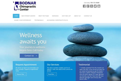 Alexandria Chiropractor - Bodnar Chiropractic Center - Website Redesign