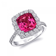 Coast Diamond Pink Spinel Engagement Ring
