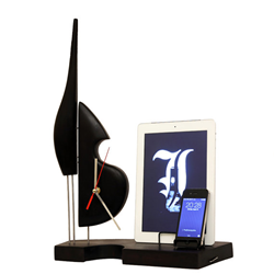 wood docking station for gift with elegant design