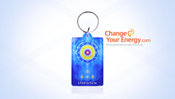 Complimentary LifeParticle Keychain and Meditation tool with all CYE shop orders of more than $100.