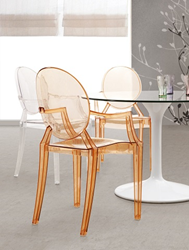 Anime Dining Chair Transparent Acrylic 106104 Zuo Modern