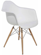 Nuevo Living HGZX215 Earnest Dining Chair in White