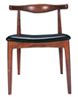 Nuevo Living HGEM146 Saal Accent Chair American - Walnut