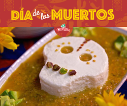 Calavera Queso Fresco Salsa Dip recipe from www.diadelosmuertosrecipes.com